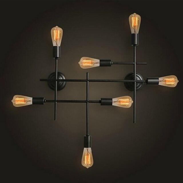 Jmmxiuz moderne mur LED lampe 7 têtes applique murale pour chambre ...