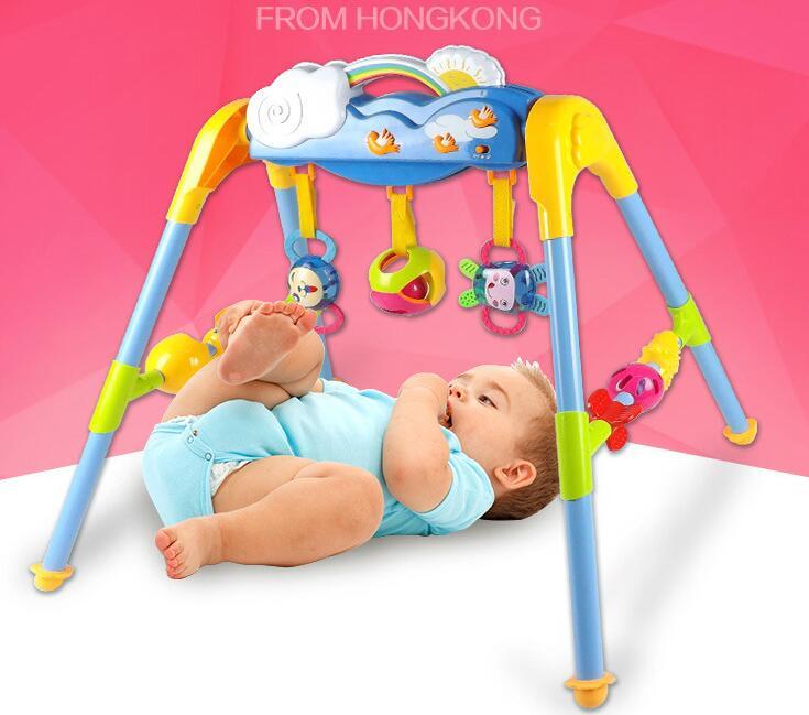 Multifonctionnel musique Intelligence jeu tapis bébé activité jeu tapis bébé Gym éducatif Fitness cadre jouet cadeau