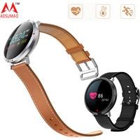 S2 metal 3D color display smart band fashion bracelet Dynamic Heart rate monitor blood pressure shock alarm clock watch