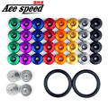 ACE speed-JDM password Quick Release Fasteners For Car Bumpers Trunk Fender Hatch Lids Kit