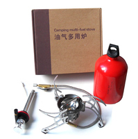 Free Shipping Oil/Gas Multi Use Stove Cooking Stove Camping Stove Portable and Lightweight