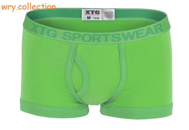XTG sportwear New Men's Boxer U Convex Phnom Penh Cotton Men's Business Shorts Men Boxer New 2016 Underwear Man