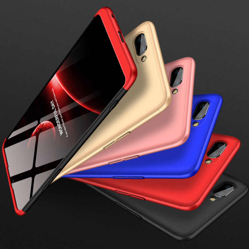 best sneakers e116e 08020 Case For OPPO Realme 2 Pro Case 360 Degree Full Body Protection Phone Back  Coque For OPPO Realme2 Pro Hard Plastic Phone Cover