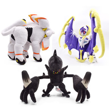 3 Styles Delicate Alola Solgaleo Lunala Necrozm SUN & MOON Anime Plush Stuffed Peluche Toy Great Christmas Gift For Children