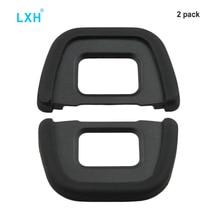 LXH 2 Stücke Ersetzt Nikon DK-23 Augenmuschel Augenmuschel Okular Sucher Für Nikon D40x D90 D70S D100 D300 D600 D610 D750 D5200 D7500