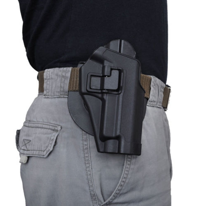 Quick Tactical Right Hand Paddle Pistol Holster for SIG Sauer 220 228 229 P226 Black image