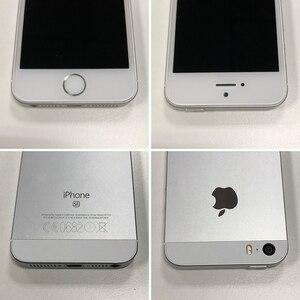 "Image 5 - Unlocked Original Apple iphone SE Dual Core A1723/A1662 2GB RAM 16GB/64GB ROM 4.0"" Chip A9 iOS  LTE Touch ID Smartphone Cheap"
