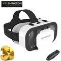 Shinecon vr óculos de realidade virtual óculos 3d originais 4.7-6.0 caixa de polegada smartphone shinecon vr