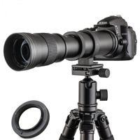 JINTU 420 800mm F/8.3 Super Telephoto Manual Lens for SONY a6500 NEX 7 NEX 6 NEX 5T NEX 5N NEX 5R 3N E Mount Digital Camera