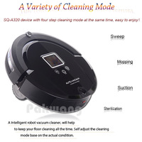 Only For Russian Lowest Noise Large Battery Intelligent Robot Rommba Vacuum Cleaner