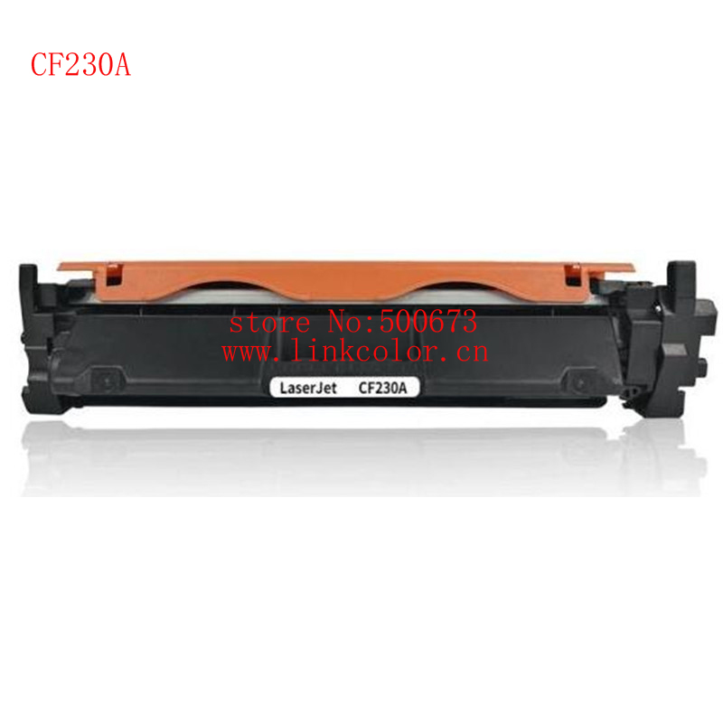 2pcs  CF230A 30A 230A black toner cartridge compatible  For HP LaserJet M203d/M203dn/M203dw LaserJet Pro MFP M227fdn/M227fdw cf230a black compatible toner cartridge for hp laserjet m203d m203dn m203dw laserjet pro mfp m227fdn m227fdw no chip