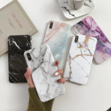 Marble X Cases For iphone X XS Max