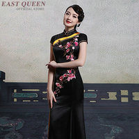 Cheongsam qipao Chinese orienal dress China female traditional Chinese clothing for women qi pao sexy chinese dresses AA4124