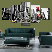 City Landscape Canvas Wall Art Home Decor For Living Room Paintings on for Decorations Artwork