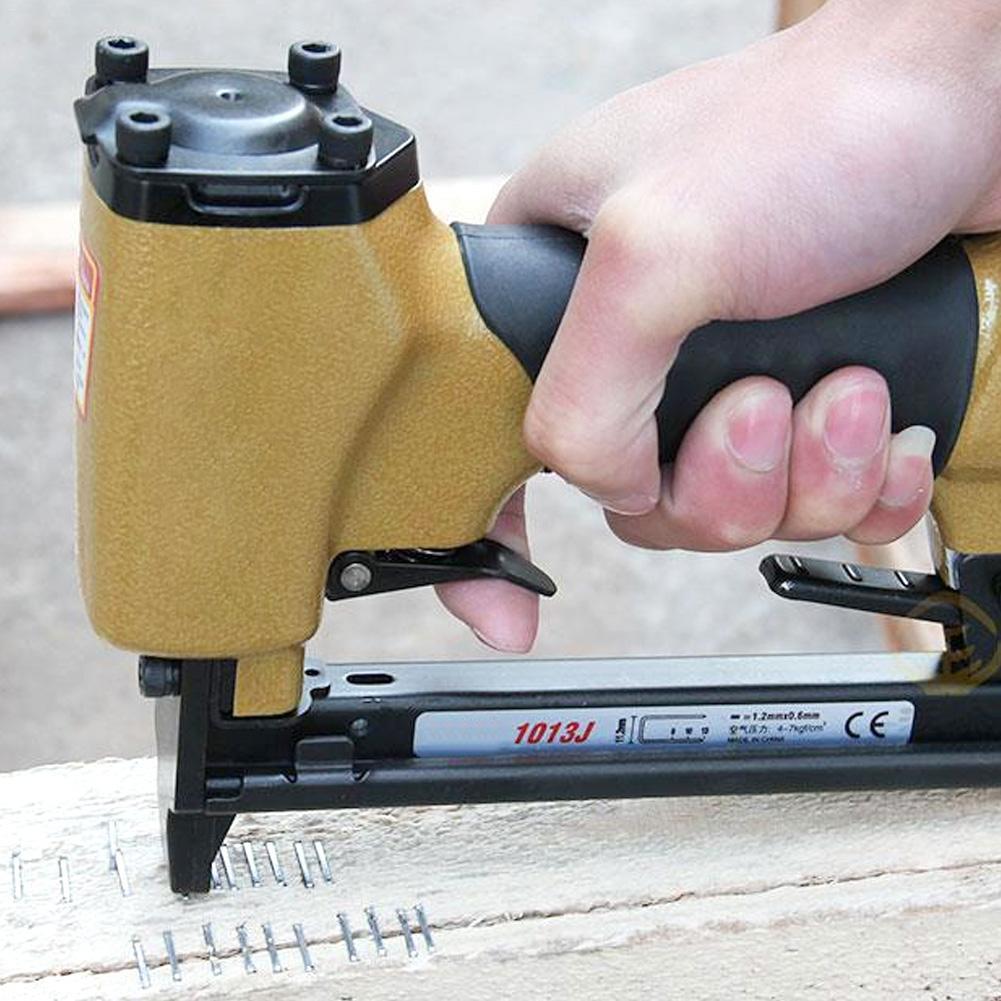 VAHIGCY Pneumatic Stapler Lightweight Pneumatic Nail Stapler Coil Siding Framing Nailer Available For  1006J 1008J 1010J 1013J