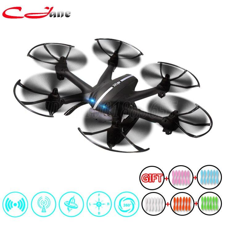 Regalo = 5 colores hoja MJX X800 RC Drone quadcopter con C4015 Wifi X400 FPV HD