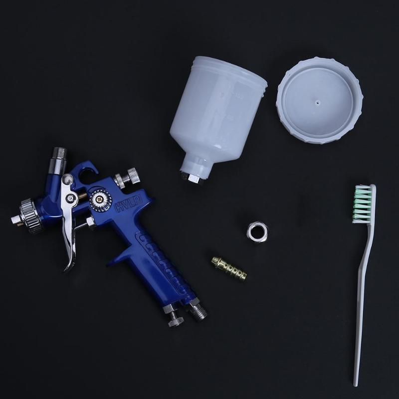 Image 5 - 0.8/1.0mm Spray Gun Airbrush Nozzle H 2000 Mini Air Paint Spray Gun Airbrush HVLP Spray Gun for Painting Cars Aerograph Airbrush-in Spray Guns from Tools on
