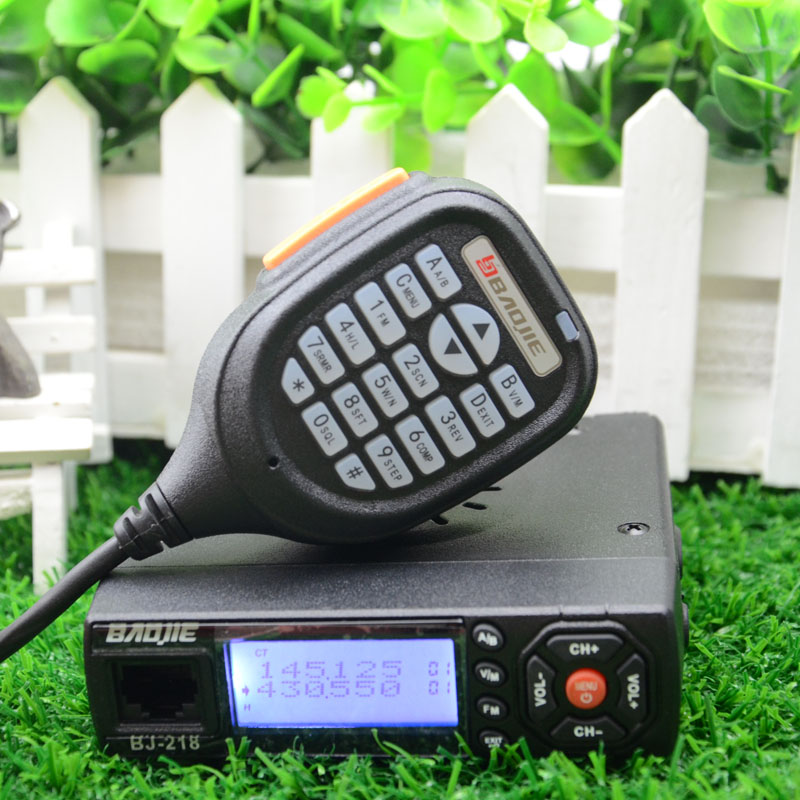 Baojie BJ-218 Auto Mini Mobile Radio Transceiver 25 W dual band small size car transceiver with accessoriesBaojie BJ-218 Auto Mini Mobile Radio Transceiver 25 W dual band small size car transceiver with accessories