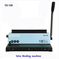 A4 Wire binding machine TD 130  Small machine Big capacity.Easy Operation|Binding Machine| |  -