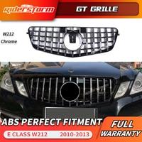Gt Grille Voor W212 Gt Grill Grille Prefacelift Voor Mercedes E Klasse W212 Sedan Front Racing Grill E320 E350 e400 C207