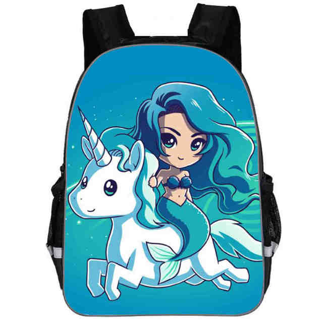 Unicorn Backpack Dab Little Pony Rainbow Horse Teenagers Boys Girls Toddler  Animal Kid School Book Bags Men Women Mochila Bolsa 4504bdeb83