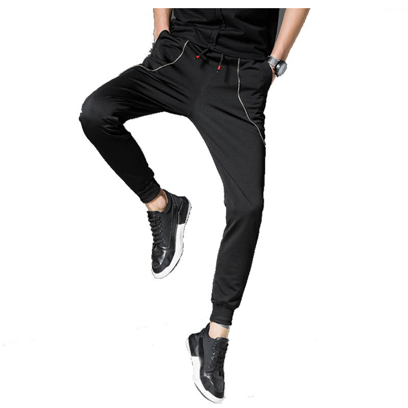 2018 High Quality Jogger Pants Men Fitness Bodybuilding Trousers For Runners Clothing Autumn Sweat Trousers Britches 4XL
