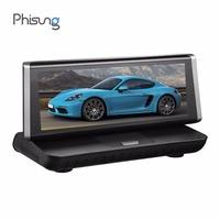 Phisung E02 8in FHD 1080P Car   DVR     Camera   Video Recorder 4G WiFi Rearview Mirror Digital Recorder Android   Dash   Cam