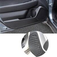 New Carbon Fiber Car Door Side Anti Kick Anti Kick Protective Decal Flim Sticker For Subaru