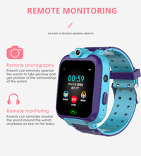 S15 IP67 Waterproof Anti-Lost Kids Smart Watch LSB Positioning Tracker S0S SIM Call sport music game  Watchs ios/android