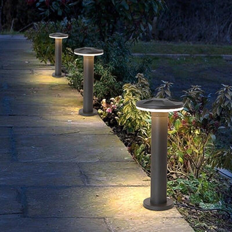 Işıklar ve Aydınlatma'ten LED Çim Lambaları'de Içinde sulu Modern avlu peyzaj işık açık su geçirmez çim Park ışıkları dış bahçe Villa çim lamba mühendislik ışık title=
