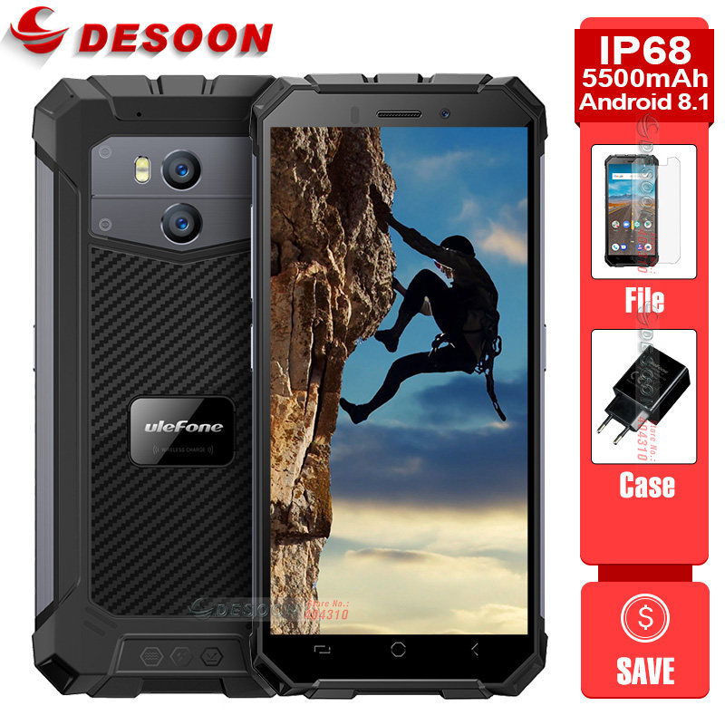 Blackview BV5500 IP68 Waterproof Android 8 1 MTK6580P Mobile Phone 5 5