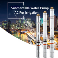 400w 40m Lift 220v50hz Deep Well Pump Submersible Water Pump AC For Irrigation