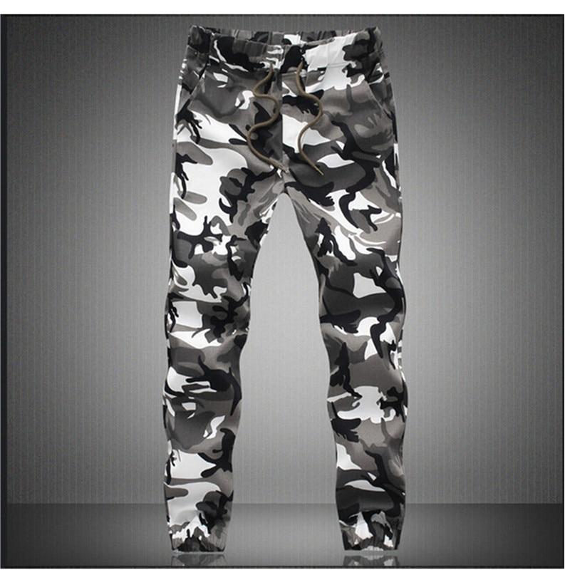 Trousers Jogger-Pants Pencil Spring Harem Military Camouflage Mens Autumn Cotton Comfortable