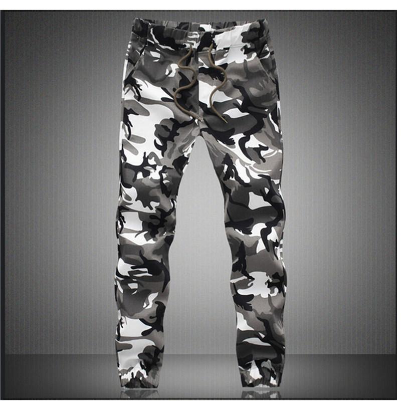 Camouflage Military Jogger Pants Men 2021 Pure Cotton Mens Spring Autumn Pencil Harem Pant Men Comfortable Trousers Camo Joggers