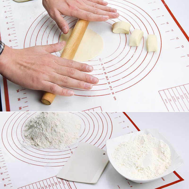 Nướng Bánh Thảm Lót Gối Miếng Lót Silicone Lớn Thớt Mặt Dày Nướng ...