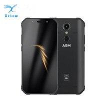 """AGM A9 JBL co branding 5.99 """"4G + 32G Android 8.1 wytrzymały telefon 5400mAh IP68 wodoodporny smartfon głośniki Quad Box NFC"""