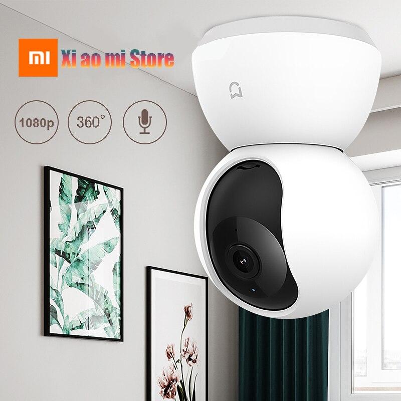 Xiaomi Mijia caméra IP intelligente 1080P HD WiFi panoramique Vision nocturne 360 degrés vue détection de mouvement moniteur de sécurité Webcam