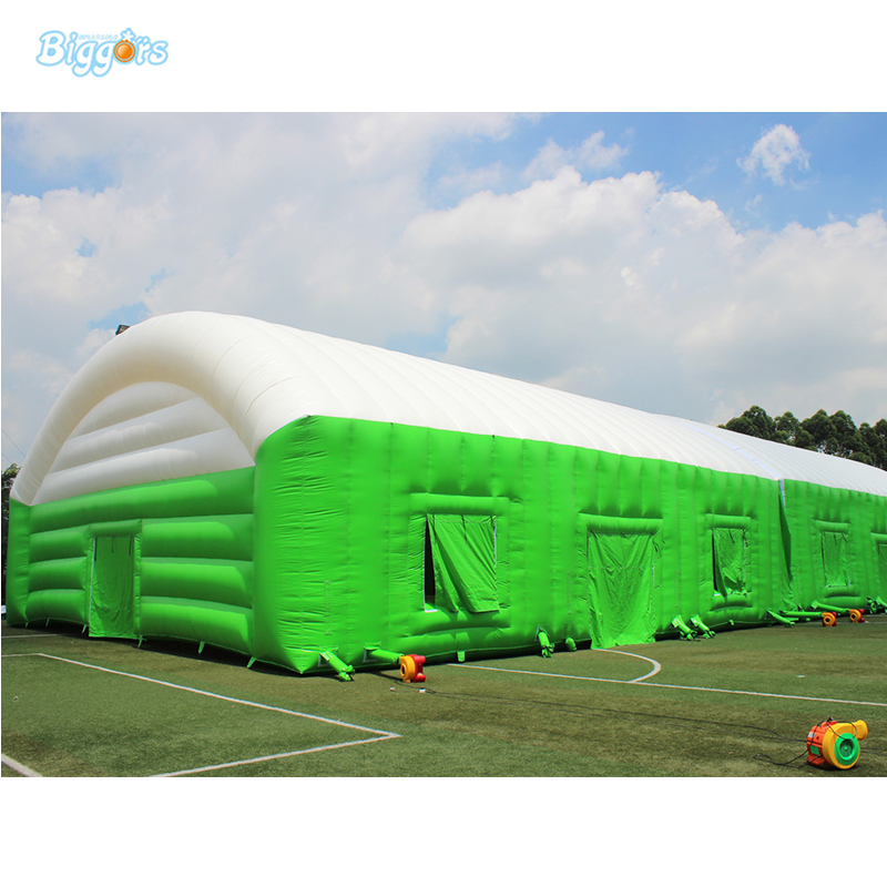Giant Inflatable Tennis Court Tent Inflatable Sport Tent With Blowers sea shipping giant commercial inflatable kids soccer court football field with blowers