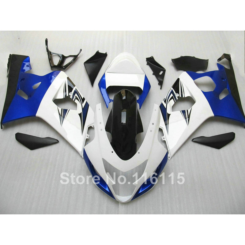 plastic fairing kit for SUZUKI GSXR600 GSXR750 K4 2004 2005 blue white black fairings bodywork GSXR 600 750 04 05 Q780 winter beanies solid color hat unisex warm beanie skull knit cap hats knitted gorro simple caps for men women hip hop boy girls
