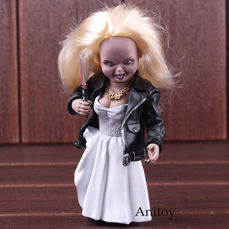 Ребенка играть рисунок Невеста Чаки Тиффани игрушки ПВХ Фигурки Коллекционная модель игрушки куклы 15 см