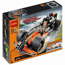 2015 new hot sale decool 3413 warrior black champion racer pull back technic car Building Block Sets Toys Compatible With Lego цена 2017