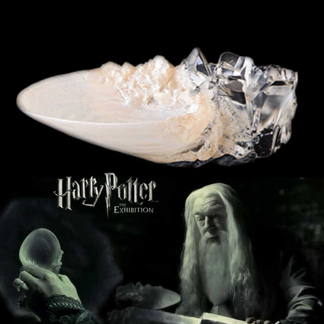 HARRY POTTER Peripherals Dumbledore Crystal Cup Cosply properties Figure toy model S156