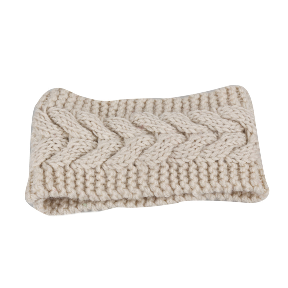 10 Colors Wide Knitted Headband Women's Fashion Hair Accessory Winter Cozy Stocking Stuffer Cable Knit Ear Warmer