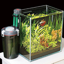 Aquacompact EHEIM external filter mini nano aquarium fish tank hang on bracket with in filter bio media made in Germany