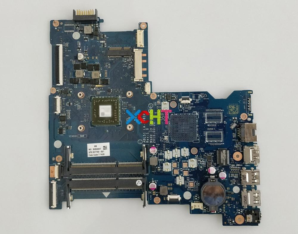 for HP Notebook 15 AF Series 15Z AF000 827705 501 ABL51 LA C781P REV:1.0 UMA A6 5200 Laptop Motherboard Mainboard Tested-in Laptop Motherboard from Computer & Office
