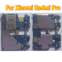 Original Tested Work Mainboard For Xiaomi Redmi Pro Hongmi Pro 64GB Unlocked MotherBoard Circuits Card Fee Flex Cable