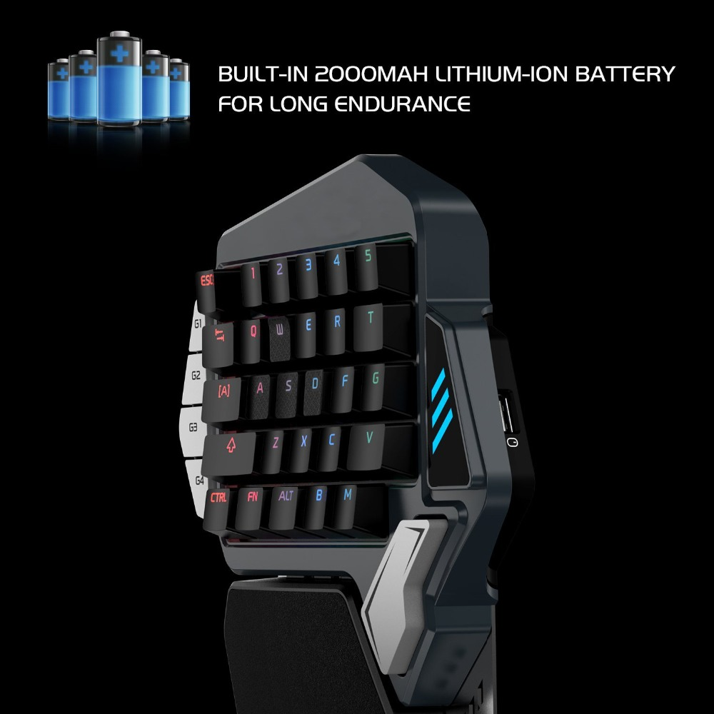 RGB Gaming Mini Keypad for PUBG FPS Mobile games, AoV,Mobile Legends
