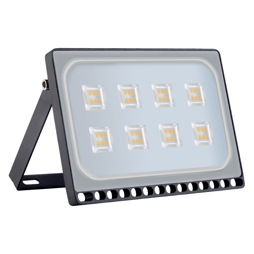 110V 220V Ultrathin LED Flood Light 10W 20W 30W 50W 100W IP65 Waterproof Spotlight Outdoor Lighting Wall Lamp Garden Floodlight
