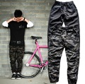 Olive Black Fashion Quality Special Cool Designer Men Hip Hop Swag Biker Jogger Trouser Kanye West Brand-clothing Bottom