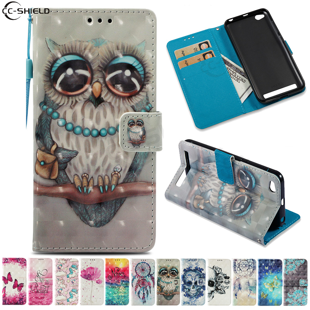 sports shoes 46955 36f3e Flip Case for Xiaomi Redmi 5A 5 A Redmi5A Case Phone Leather Cover for  Xiaomi Redmi A5 Red mi 5A Redmi5 A Wallet Phone Cases Bag